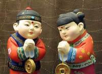 Idioms are traditional greetings in China