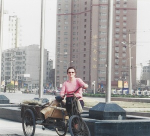 Old bike in China